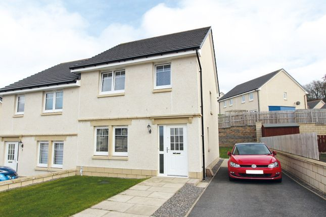 Thumbnail Semi-detached house for sale in Bramble Close, Culduthel, Inverness
