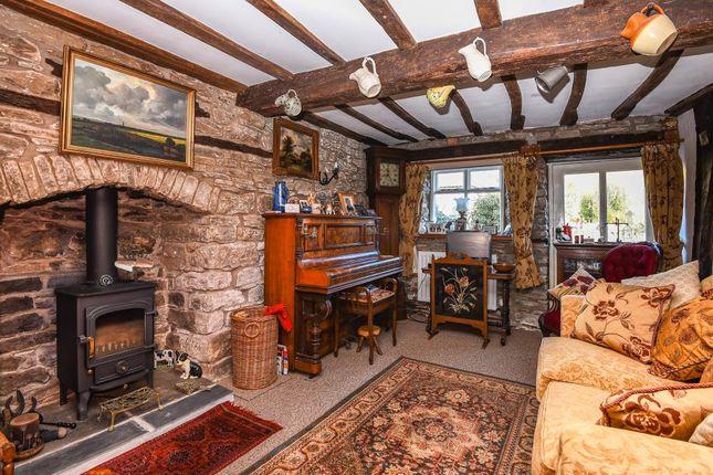 Thumbnail Detached house for sale in Norton Presteigne, Powys