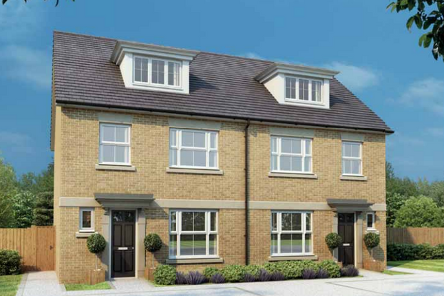 Thumbnail Semi-detached house for sale in St Andrew's Place At Southbank, Papyrus Villas, Newton Kyme, North Yorkshire