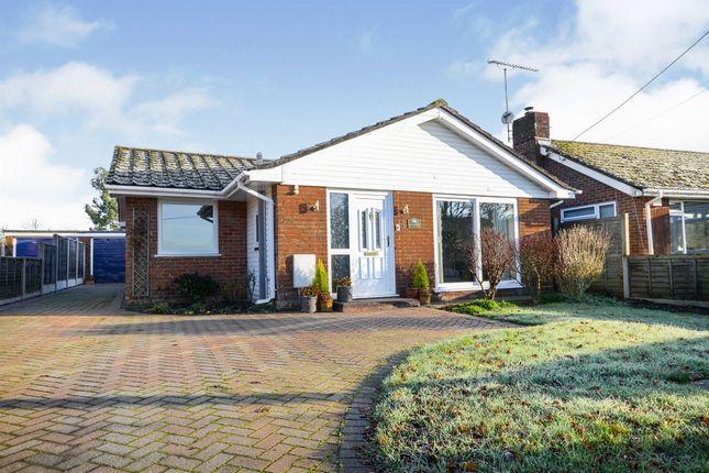 Thumbnail Detached bungalow for sale in Helengar, Sandleheath, Fordingbridge