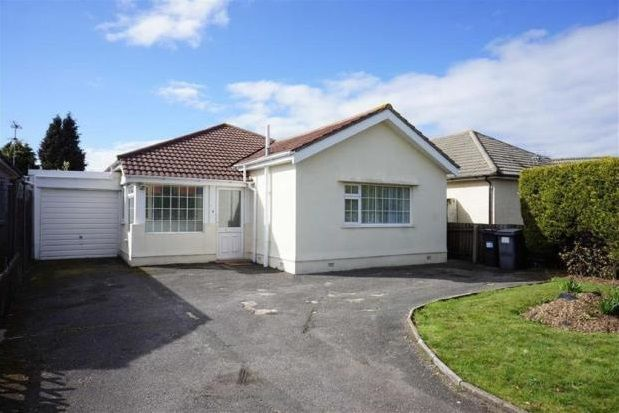 Thumbnail Bungalow To Rent In Charminster Road Bournemouth
