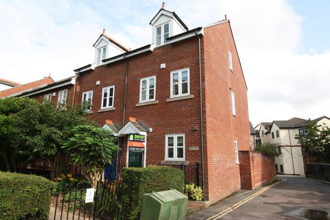 Thumbnail End terrace house to rent in Priory Gardens, Friernhay Street, Exeter