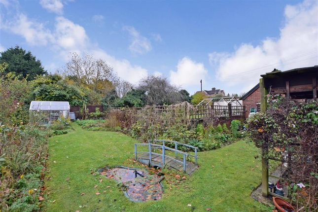 Rear Garden of Station Hill, East Farleigh, Maidstone, Kent ME15