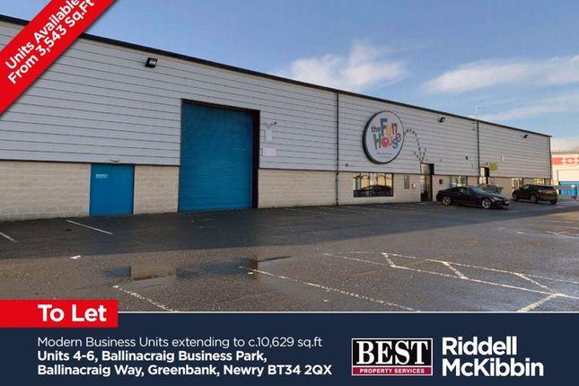 Thumbnail Property to rent in Ballinacraig Way, Greenbank Industrial Estate, Newry