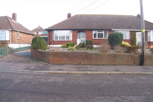 Thumbnail Bungalow to rent in Littlemead Lane, Exmouth