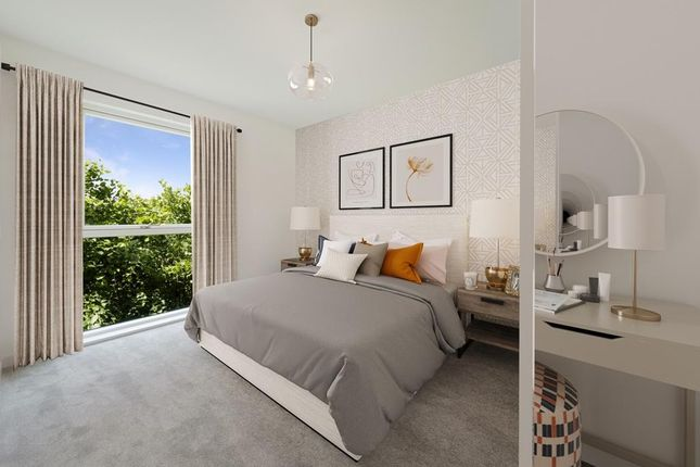 """Bedroom of """"Brooklime Apartments"""" at Bittacy Hill, London NW7"""