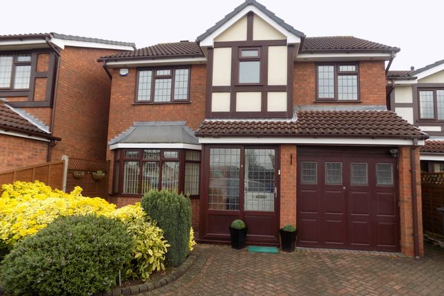 Thumbnail Detached house to rent in Radford Close, Atherstone