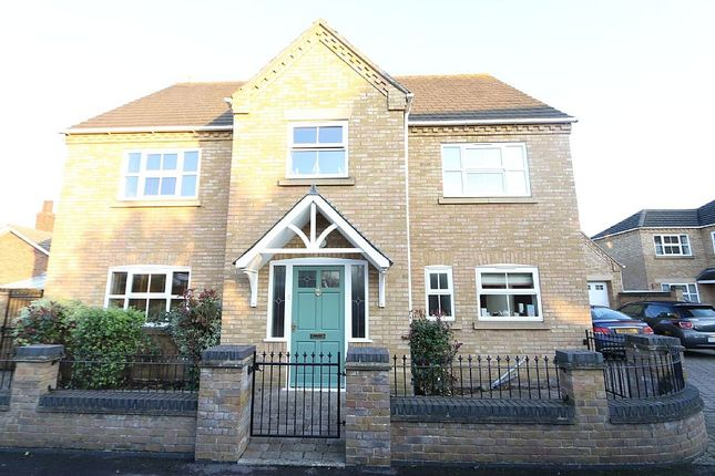 Thumbnail Detached house for sale in George Gardens, Whittlesey, Peterborough, Cambridgeshire
