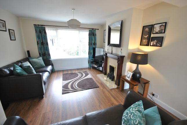Thumbnail Semi-detached house for sale in Hyland Crescent, Warmsworth, Doncaster