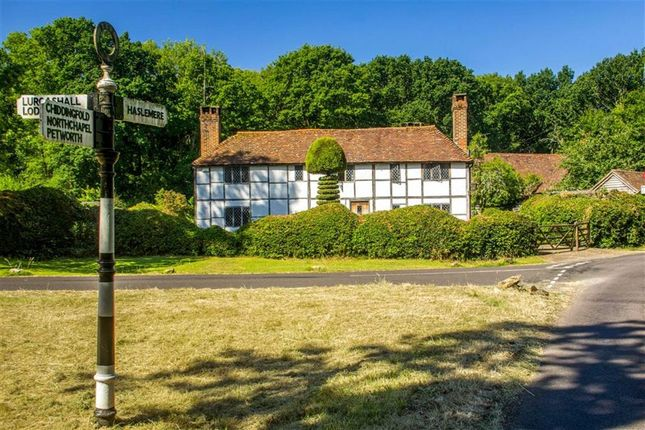 Thumbnail Country house for sale in Gospel Green, Gospel Green, Haslemere, Surrey