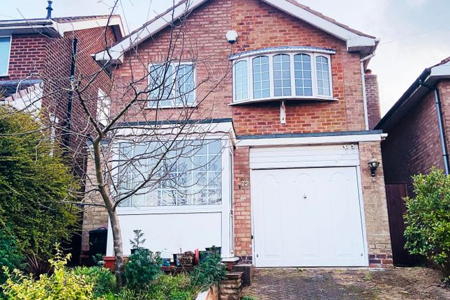 Thumbnail Detached house to rent in Wideacre Drive, Great Barr