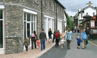Thumbnail Retail premises to let in Unit 6, St Martins Parade, Bowness-On-Windermere
