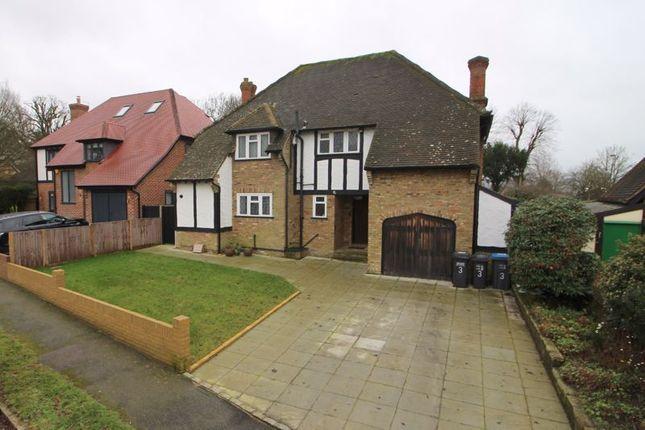 Thumbnail Detached house for sale in Glebe Hyrst, Sanderstead, South Croydon