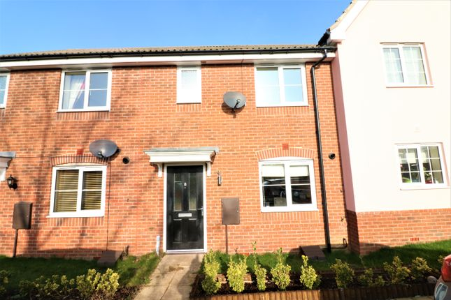 Thumbnail Terraced house for sale in Ash Close, Dereham