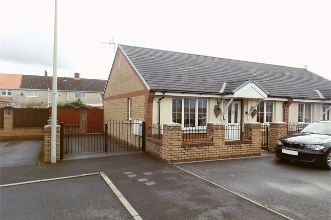 Thumbnail Semi-detached bungalow for sale in Golwg Y Mor, Aberavon, Port Talbot, West Glamorgan