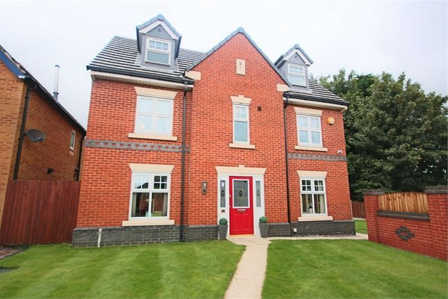 Thumbnail Detached house for sale in Priestfields, Leigh, Lancashire