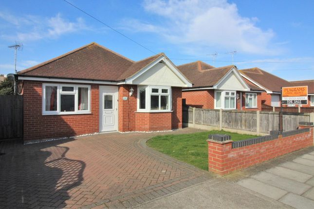 Thumbnail Detached bungalow for sale in Salisbury Road, Holland On Sea, Clacton On Sea