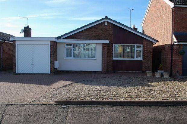 Thumbnail Detached bungalow for sale in Ryeland Road, Duston, Northampton