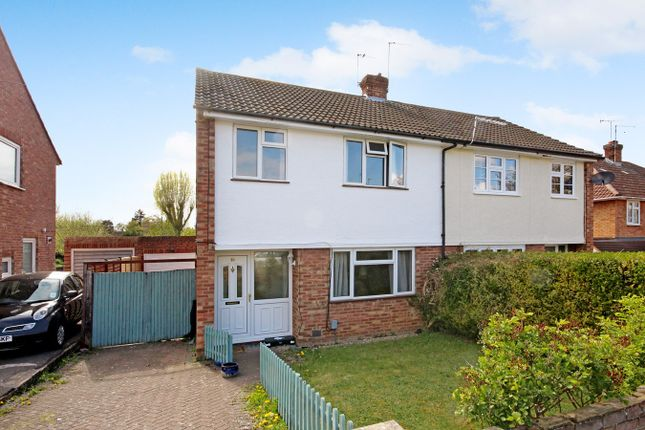 Thumbnail Semi-detached house for sale in Lawrence Avenue, Letchworth Garden City