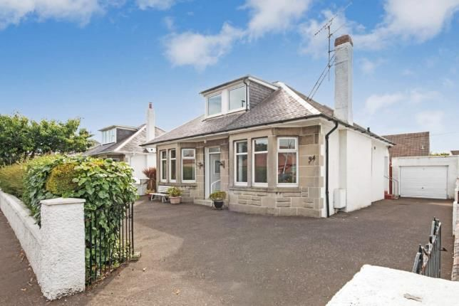 Thumbnail Bungalow for sale in Adamton Road North, Prestwick, South Ayrshire, Scotland