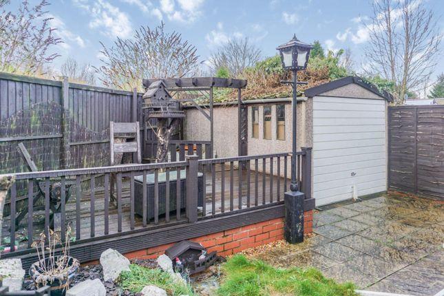 Garden of Abbey Lane, Bucknall, Stoke-On-Trent ST2
