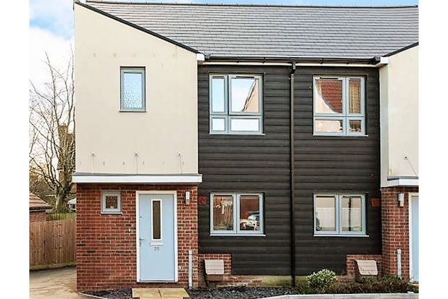 Thumbnail End terrace house for sale in Legg Road, Shaftesbury