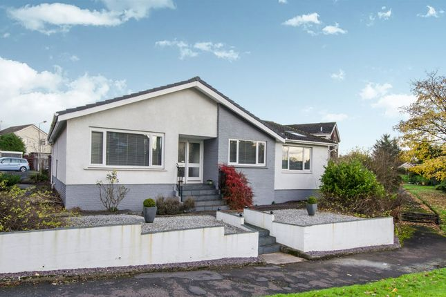 Thumbnail Detached bungalow for sale in Abercorn Road, Newton Mearns, Glasgow