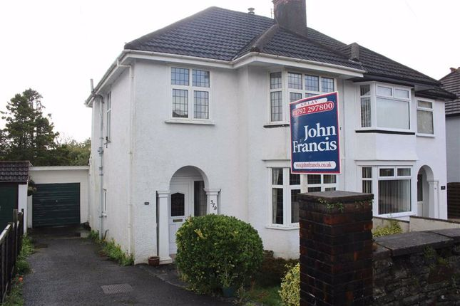 Thumbnail Semi-detached house for sale in Gower Road, Killay, Swansea