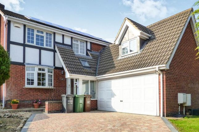 Thumbnail Detached house for sale in Montague Drive, Loughborough