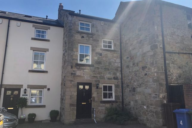 Thumbnail 3 bed town house to rent in Jubilee Court, Howick Street, Alnwick
