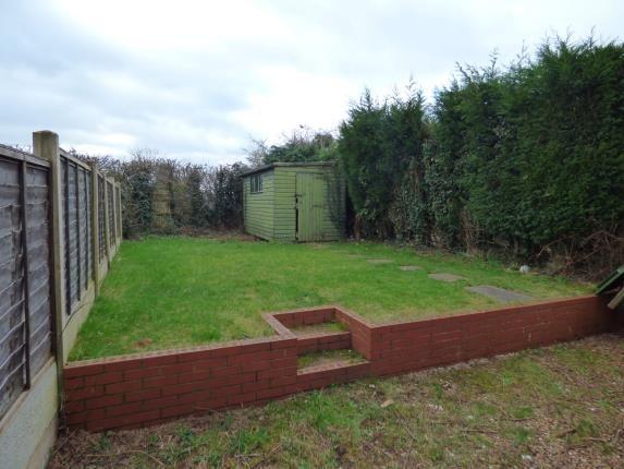 Garden of Cheviot, Wilnecote, Tamworth, Staffordshire B77