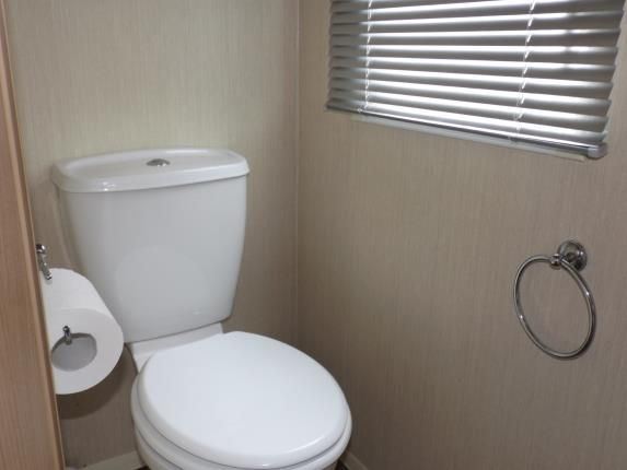 WC/Cloakroom of Perran Sands Holiday Park, Perranporth, Cornwall TR6