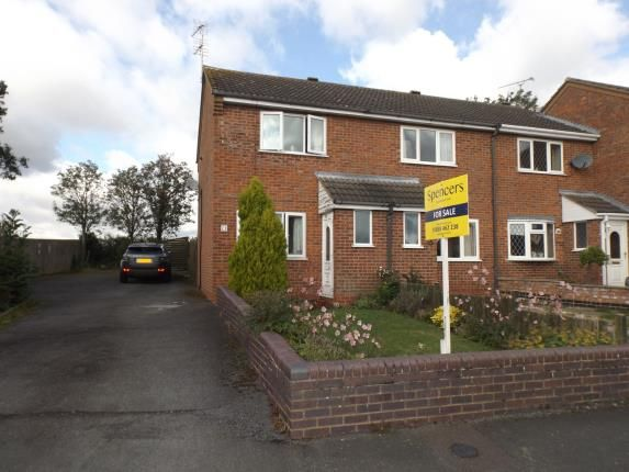 Thumbnail End terrace house for sale in Long Grey, Fleckney, Leicester, Leicestershire