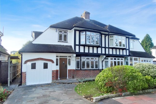 Thumbnail Semi-detached house to rent in The Mead, Beckenham, Kent
