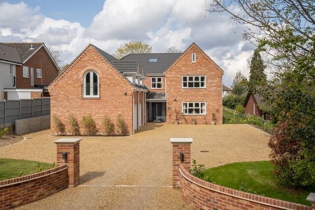 Thumbnail Detached house for sale in East Avenue, Brundall, Norwich