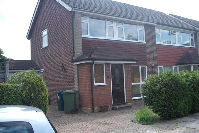 Thumbnail Semi-detached house to rent in Haslett Road, Shepperton