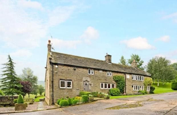 Thumbnail Detached house for sale in Higher Chisworth, Chisworth, Glossop