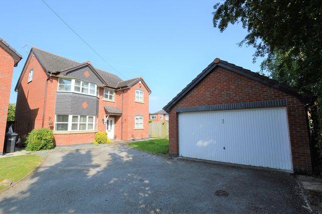 Thumbnail Detached house for sale in Mancot Lane, Mancot, Deeside