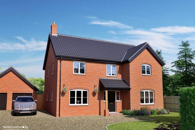 Thumbnail Detached house for sale in Fox Lane, Blofield, Norwich