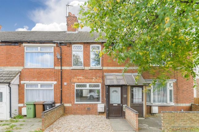Thumbnail Terraced house for sale in Irthlingborough Road, Finedon, Wellingborough