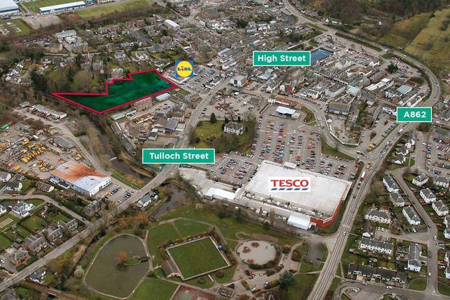 Thumbnail Commercial property to let in Tulloch Street, Dingwall