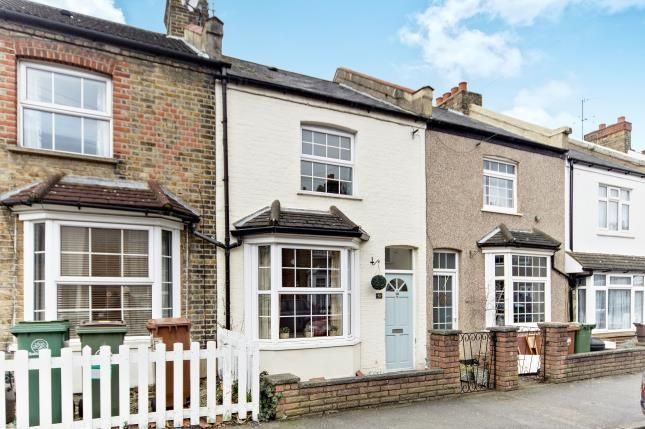Thumbnail Terraced house for sale in Warwick Road, Sutton, Surrey, Greater London