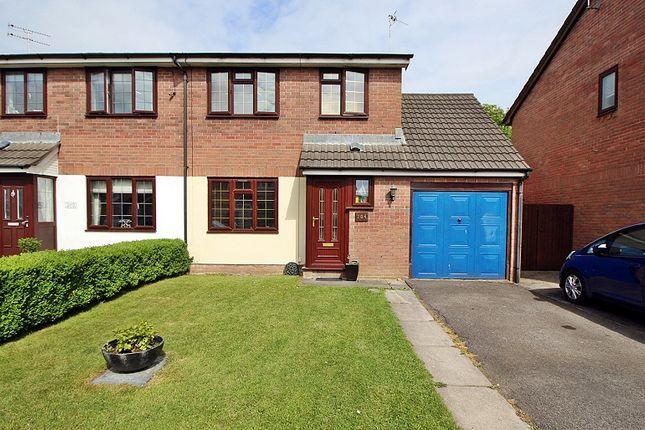 Thumbnail Semi-detached house for sale in Ynysddu, Pontyclun, Rhondda, Cynon, Taff.
