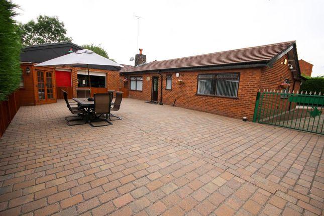 Thumbnail Detached bungalow for sale in Barton Lane, Eccles, Manchester