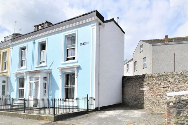 Thumbnail End terrace house for sale in Clare Terrace, Falmouth