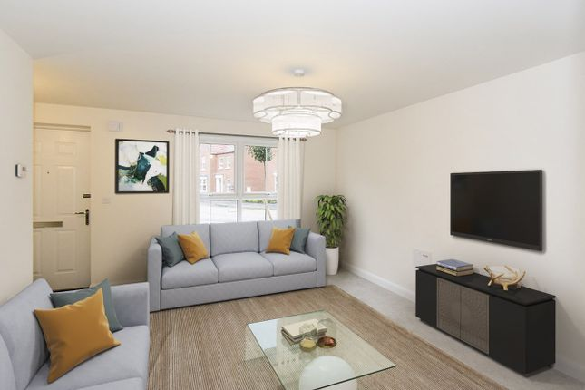 Thumbnail End terrace house for sale in Wagtail Avenue, Kibworth Beauchamp, Leicester, Leicestershire