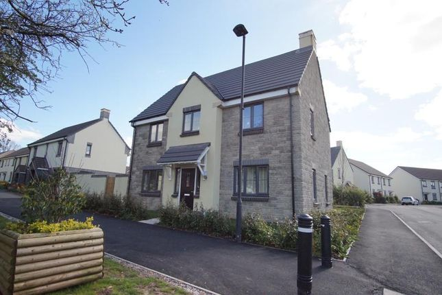 Thumbnail Detached house to rent in Oxleigh Way, Stoke Gifford, Bristol