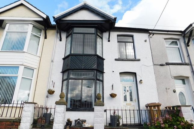 Thumbnail Terraced house for sale in Beech Embankment, Ystrad Mynach, Hengoed
