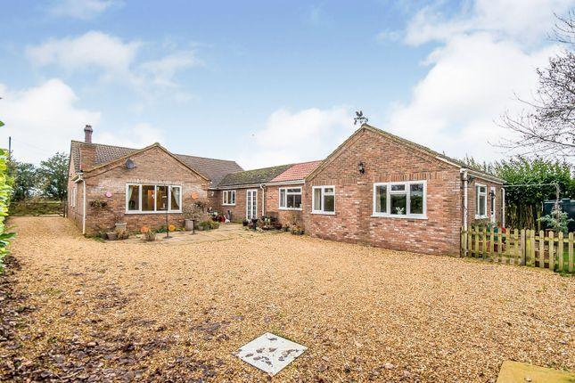 Thumbnail Detached bungalow for sale in Parson Drove Lane, Leverington, Wisbech