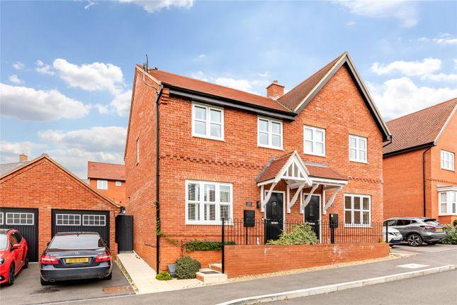 3 bed semi-detached house to rent in Brook Dene, Winslow, Buckingham MK18